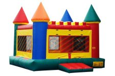 There will be a bounce house for the kids!