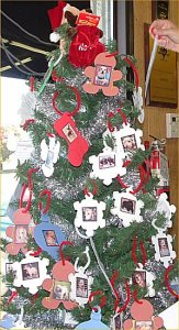 Angel tree at Agrifeed