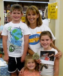 Parker, Louise, Hadley and Emmy